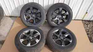 Nissan Altima Alloy wheels and tires