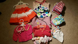 Huge baby girl clothing lot size 3-6 month