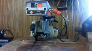 Wood Lathe and radial arm saw