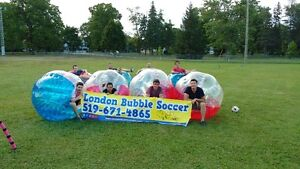 BUBBLE SOCCER   THE ULTIMATE WORK OUT!!