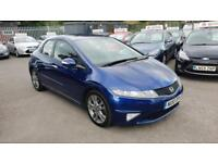 HONDA CIVIC 1.8 I-VTEC SI 5DR 2010 / 1 OWNER FROM NEW / DEALERSHIP HISTORY
