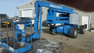 REDUCED PRICE ON THIS 2006 GENIE Z60/34 BOOM LIFT