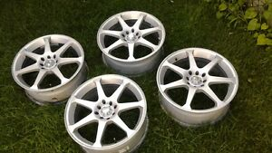 "4 x MRS alloy rims.......17""x7""......USA"