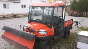 2011 kabota utility vehicle