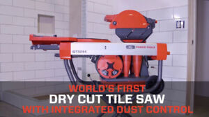 PRO Tile Saw. SAVE $600 on the iQTS244 Dry Cut Tile Saw. NEW.