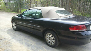 2004 Chrysler Sebring décapotable