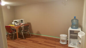 Furnished Basement for Rent available in July 1st