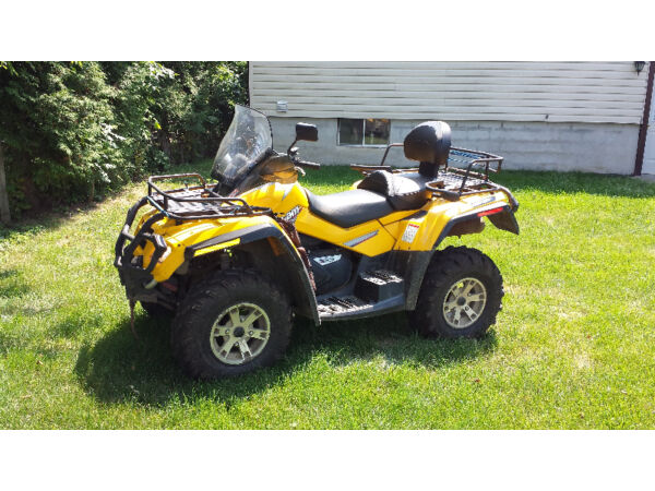 Used 2008 Bombardier Outlander Max XT