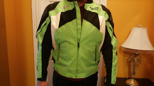 Kawasaki joe rocket jacket with padding