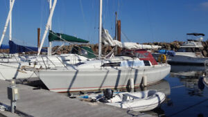 1987 O'Day 322 Sailboat for sale