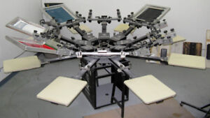 Place to set up Screen printing (silk screen) equipment