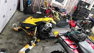 Parting out 2008 renegade 800r #597 1554