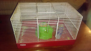 I have one hamster cage for sale.