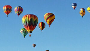 Hot Air Balloon Ride for Two  $300 including tax