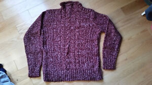 7 Sweaters + 2 vests  - SIZES LARGE & EXTRA LARGE