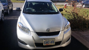 2010 Toyota Matrix Hatchback For Sale by 1st Owner- Low KM.