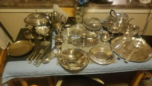 Silver plated antiques