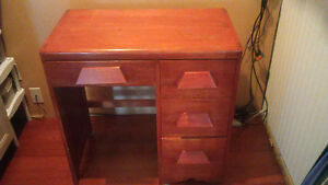 Solid Wood Desk (small)