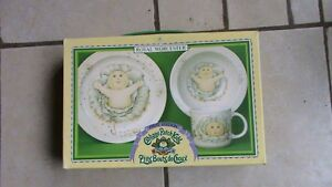 Royal Worcester Cabbage Patch dishes