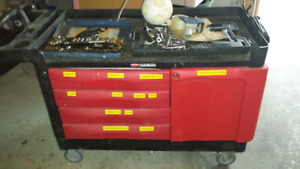 Rubber maid tool chest