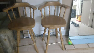 Swiveling chairs/stools