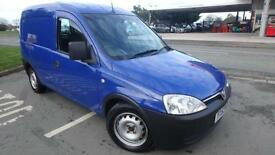 2003 Vauxhall Combo 1.7Di blue only 55715 miles guaranteed shrewsbury NO VAT