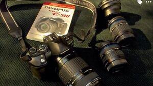 Olympus Camera package