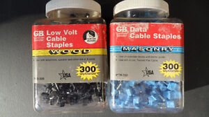 G B CABLE / DATA STAPLES