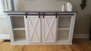 Custom Hutches / Console Tables built to size