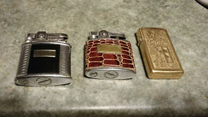 3 Vintage Lighters/ 1 is Zippo