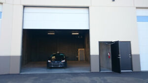 Avail NOW: Serious, Secure and Heated Shop / Parking