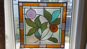 Beautiful stained glass piece
