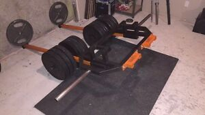 Hex trap barbell multi-purpose - Super VIKING press  West Island Greater Montréal image 3