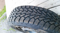 Goodyear Nordic Winter Tires&Rims185/65R/14 *Mint* 4 Months Old