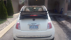 2012 Fiat 500c LOUNGE (TOP OF LINE) Convertible