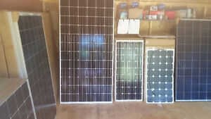 NS Off Grid, for solar panels, charge controllers and batteries.