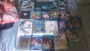 Limited edition ps vita games for sale or trade