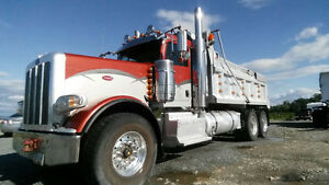 2013 PETERBILT DUMP TRUCK AND K-LINE TRANSFER