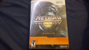 Metroid Prime Trilogy Collector's edition Wii