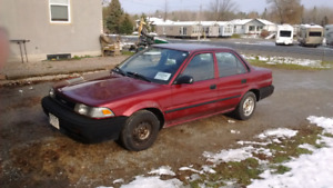 1989 corolla only 136km