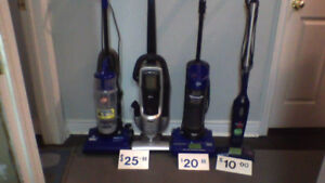 Independent Vacs $10-$60 ea (90 day guarantee) WOW