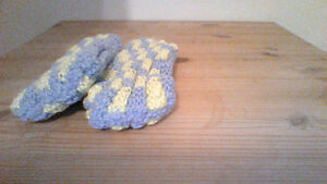 home made slippers