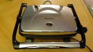 Bistro Sandwich Grill - Toastess, TSG-1, Chrome And Black Trims