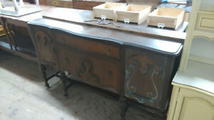 NOW BUYING BUFFETS SIDEBOARDS FRENCH PROVINCIAL DINING SETS CALL