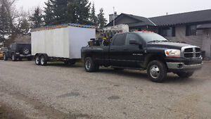 Hauling moving towing available