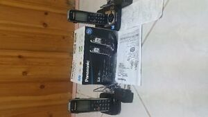 panasonic home phone with alarm, talking caller ID & Answering