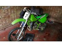 Kx 85 1992 (rare) recent rebuild, all original parts