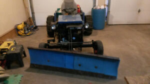 Plow for ATV/small tractor