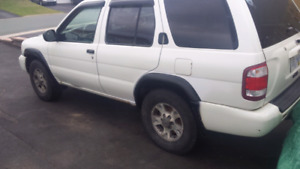2002 pathfinder great 4x4 for plow or put back on road