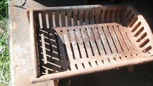 Cast Iron Fireplace Grate